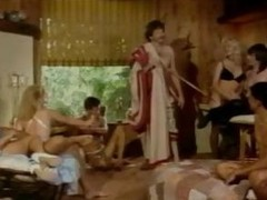 Vintage group sex with cock shafting and cunt shafting action