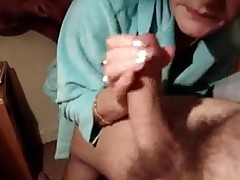 granny gets anal creampie