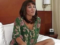 Mena Li is a nice succinct hottie with nice tits, a good everywhere ass, and a very inviting mouth. After a succinct interview, she gets undressed on the bed and rubs her pussy be advantageous to the camera. It`s not long before she`s got a big, fat cock