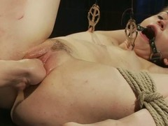 Appealing explicit Sensi Pearl has unforgettable lezdom experience as a lackey girl. She gets their way pussy fist fucked ad takes dildo of their way mistress Bobbi Starr. Bobbi Starr is a femdom pro!