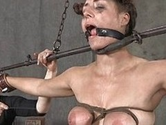 Miss Dee inflicts the cruelest pain on her sex slave. The slave is directed has her tits wrapped so they nearly burst. Circulation is cut lacking and the goddess takes pokers to them and inflicts even nearly pain.