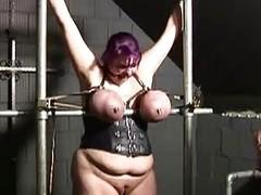 BBBW Housewife Ann punished in slut dungeon