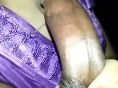 Mausi Engulfing n Fucking lad's Giant Shlong in Doggy Style