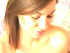 Pretty Tranny Masturbating Her Cock