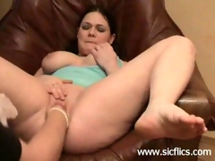 Colossal marital-device fucking and extreme fisted dilettante bitch