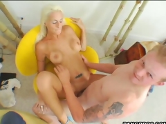 Large boobed hoe Angelina Hart gets fucked so hard she couldn't stop moaning