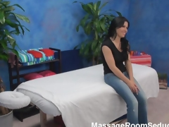 Busty Teen Bonks Massage Therapist