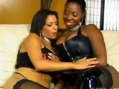 Hot Bigtitty Black Lesbians Worshiping Feet And Juicy Love tunnels