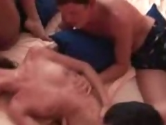 Swingers orgy hosted by those Czech couples