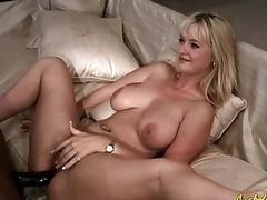 Big black cock anal with Alison Kilgore