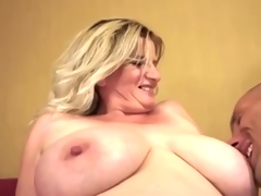 Mature woman and young chap - 71