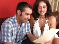 Lovely MILF Eva Notty bags a horny dude