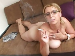 Lucy Rose naked and smoking