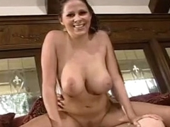 All natural GiAnna MiChaels bounces Soaked cum-hole along a GIant knob