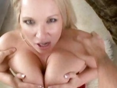Rachel Love gets her big tits round a favourable cock