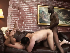Jordan Blue gets her many times used mouth stuffed anew by horny man