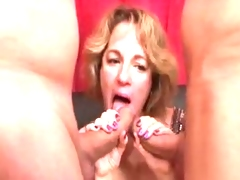 BBW Sophia Gang Group-sex