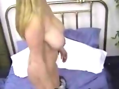 Mariah strips and toying her love tunnel