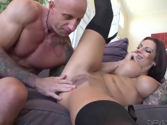 Busty Chick  Lylith LaVey Cant Wait To Ride A Cock