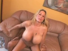 Curvy huge breast milf fucked in her cunt