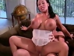Breasty slut Ava Devine has such horny holes that this babe had to have sex...