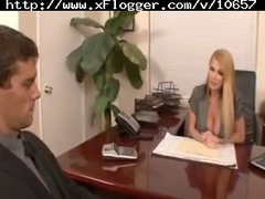 Taylor Wane fucks in her office