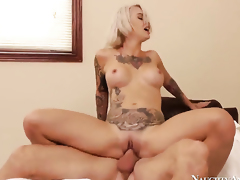 Johnny Sins plays hide the salamy with Kleio Valentien
