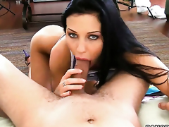Aletta Ocean is full of desire to be anally screwed