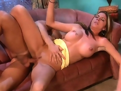Joel Lawrence sticks his fingers into pleasing babe named Kelsey Heart