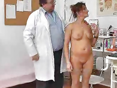 Redhead mama cunt physician role play