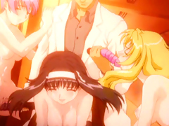 Anime coeds hot group fucking