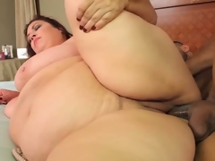 Giant titted Latina bbw Rikki Waters acquires rammed.
