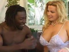 Golden-haired Big Tit Milf Gets Black Dick