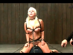 Kait Snow - No escape on the sybian