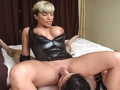 Horny slut torture be transferred to bondage cock