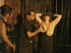 Lesbo Female-dominant Bianca Del Mar Has Fun With Her Busty Sex Slave