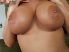 Big tits and banging with horny playgirl Whitney Stevens