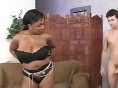 Breasty blowjob and handjob - Ms. Panther