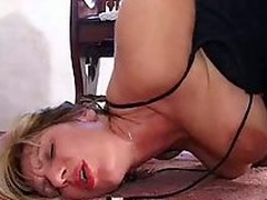 Chunky tits mature banged prevalent ass