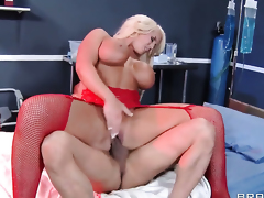 Keni Styles is horny and can not wait any greater amount to bang eye-popping Alura Jensons pussy hole