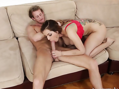 Ryan Mclane has fantastic sex with Yurizan Beltran
