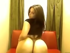 Curvy immature gf shows off for me