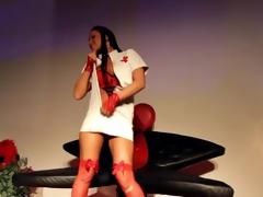 Christina Bella Public Show