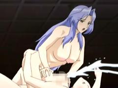 Ladyboy hentai hawt tittyfucking