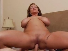 Busty Eva Notty bounces her pussy in the sky this hard detect