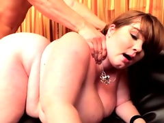 bbw with massive natural tits receive screwed