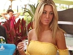 Havoc finds this French hottie...