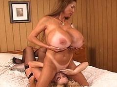 Busty Lesbians fucking cunts